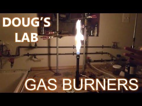 Equipment: Homemade Gas Burners