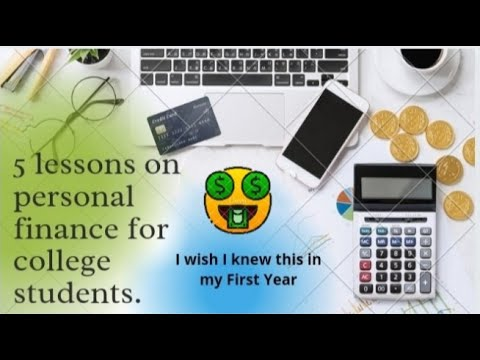 5 Personal finance tips for Students. #5