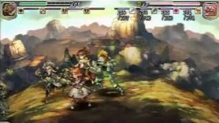 PSP『グランナイツヒストリー』10本動画10 魔法炸裂 ウィザード大集合.