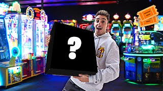 We CHEATED an Arcade, and Won THIS... **jackpot hack**