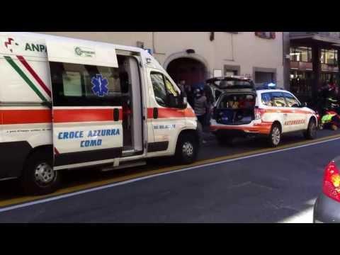 Donna Investita Dal Bus In Via Milano A Como