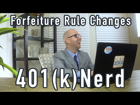 401k Nerd is excited about Safe Harbor forfeitures