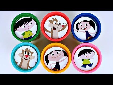 Learn Colors Massinha de Modelar Play Doh SHOW DA LUNA Surpresas Canal KidsToyShow
