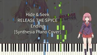 RELEASE THE SPYCE ED - Hide & Seek [Piano Cover Synthesia]