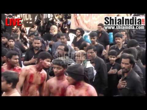 20th Safar Juloos-e-Arbaeen Hyderabad, India 1438-2016