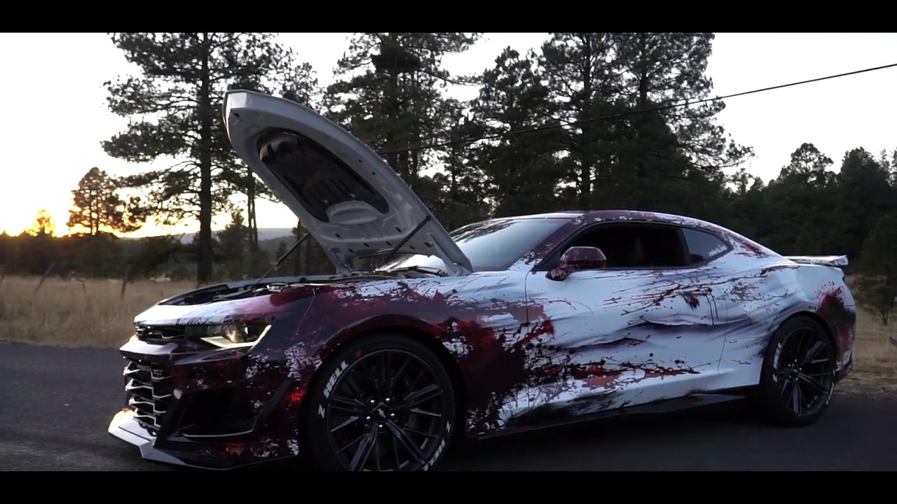 Zl1 Camaro Z Hell 1 Colorbomb Bloody Wrap Built