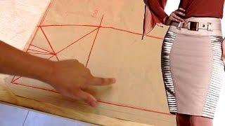 MODELAGEM: Aprenda a Modelar – Saia Básica Simples por Jonatas Verly
