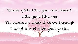 Girls like you - Maroon 5 (Lyrics)