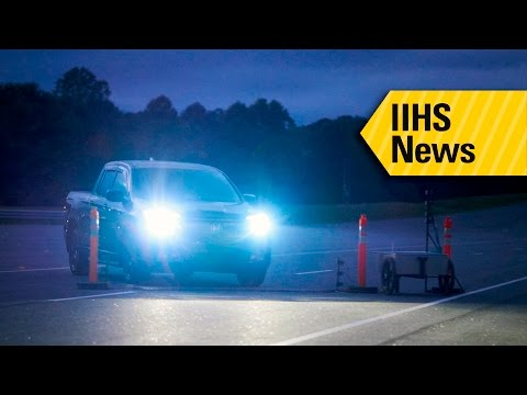 Most Pickup Truck Headlights Rate Poor - IIHS News