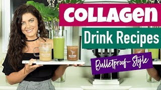 3 Drink Recipes with Collagen For Flawless Skin, Thicker Hair, & Stronger Nails