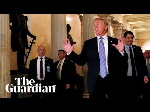 Democratics heckle Trump: 'Mr President, don't you have kids?'