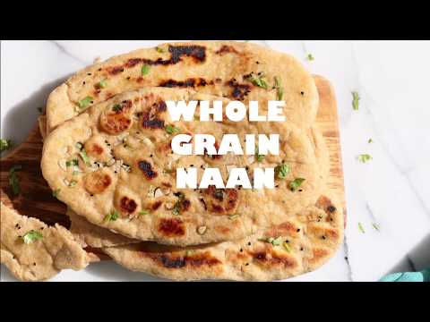 Whole Wheat Naan Bread. Amazing 100% Whole Grain Naan | VEGAN RICHA RECIPES