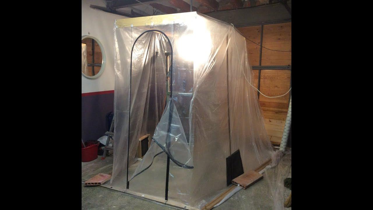 Como hacer cabina de pintar casera 2015 05 23 youtube - Como preparar una pared para pintar ...
