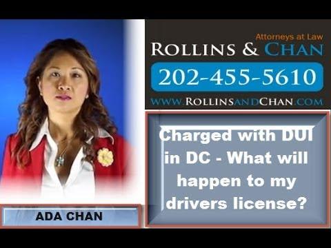 DC DUI Lawyer - Nolo Contendere plea -  Criminal Defense Attorney in DC Ada Chan
