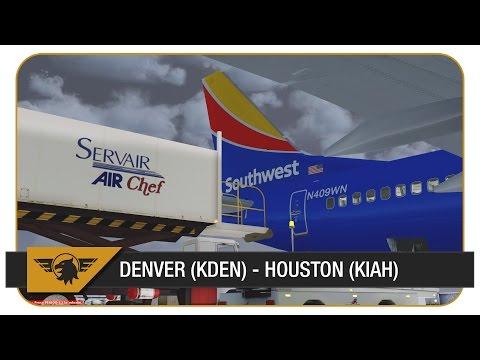 [Prepar3D] PMDG NGX | Southwest Airlines | Denver to... the WRONG Houston :(