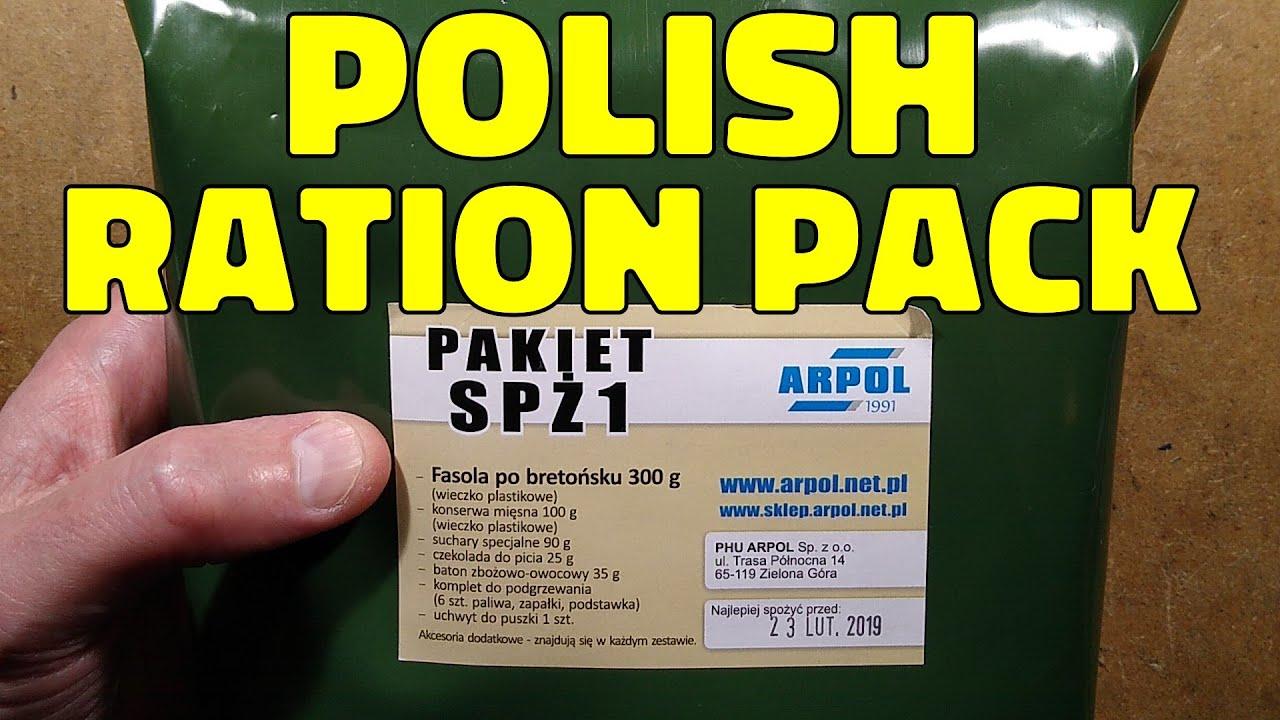 Download Polish MRE / emergency ration taste test