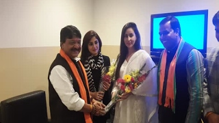 In Graphics:          Actor Rimi Sen joins BJP ahead of assembly elections