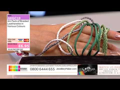 Storage bag and Kyanite for jewellery making: JewelleryMaker Late show LIVE 19/07/2014