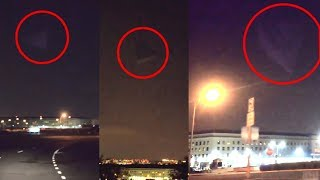 """""""Das ist kein Hologramm gewesen"""" 🔼 Riesige Pyramide rotiert überm Pentagon"""