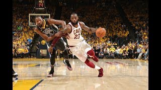 best of lebron james from games 1 and 2 of the nba finals