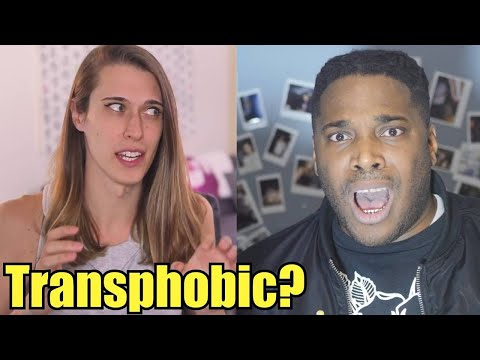 If youre not open to dating a transgender person you're....