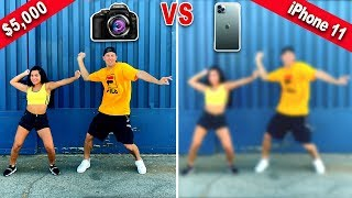 WE TRIED FILMING A DANCE VIDEO ON THE IPHONE 11!