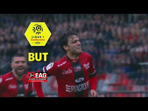 But Clément GRENIER (55') / EA Guingamp - Girondins de Bordeaux (2-1)  (EAG-GdB)/ 2017-18