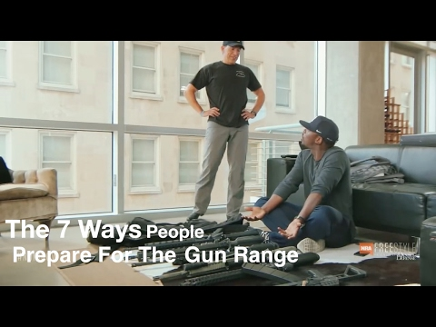 The 7 Ways People Get Ready For The Gun Range
