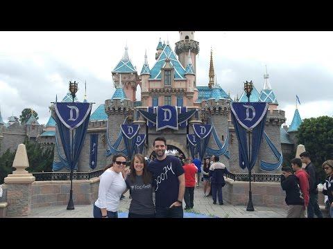 Disneyland Diamond Celebration 60th Anniversary: Paint the Night & Disneyland Forever!