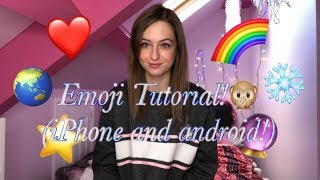 How to add emoji's to your Tik Tok video! (FREE AND EASY)