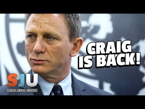 Daniel Craig Confirmed To Return As 007 James Bond! - SJU
