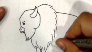 "How to draw ""Bison"" by KiDDy Apps"
