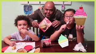 How To Bake Cupcakes With Daddy... OMG!