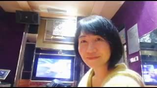 Amy Karaoke Singing 一起走過的日子 mp4