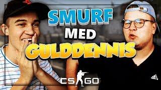FÅR HAN FLERE KILLS END MIG?! - CS:GO SMURF m. GuldDennis