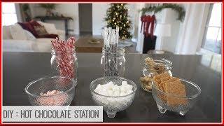 Vlomas Day 11: DIY Hot Chocolate Station