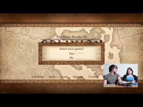 Nuptial Gaming Begins! - Let's Play The Elder Scrolls IV, Oblivion (blind) - Episode 1