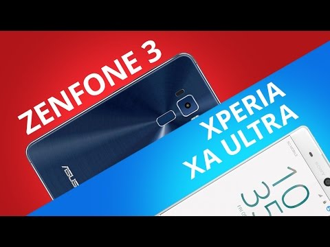 Asus Zenfone 3 vs Sony Xperia XA Ultra [Comparativo]