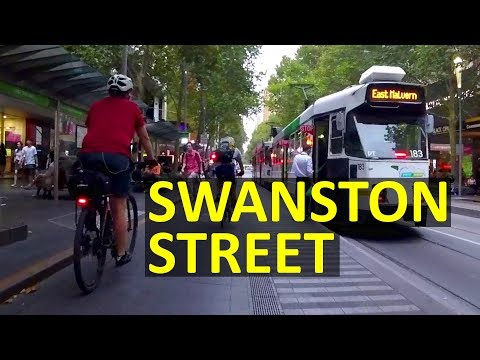 Bike Cam: Swanston Street (Melbourne Uni To Arts Precinct) | Cycling Melbourne