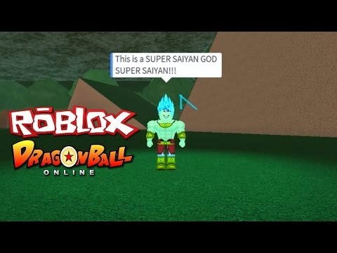 ROBLOX Dragon Ball Online: SSGSS, SSJ4, Legendary SSJ3, Grea