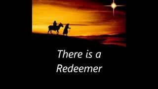 There is a Redeemer  with lyrics xmas images