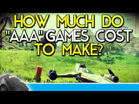 "How Much Do ""AAA"" Games Cost To Make?"