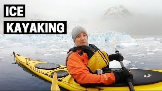 Gambar cover KAYAKING IN ANTARCTICA WITH WHALES   A Wedding and Polar Plunge Antarctica
