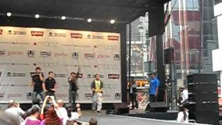 Big Time Rush - Famous (Sound Check) at Macy