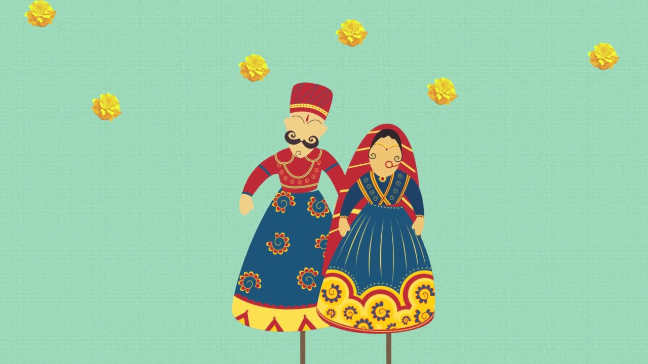 Traditional Rajasthani Wedding Save The Date Youtube