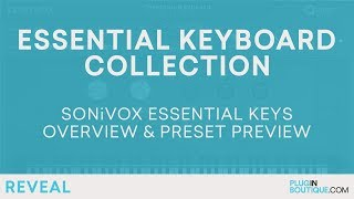 SONiVOX Essential Keyboard Collection | Review of Features Tutorial
