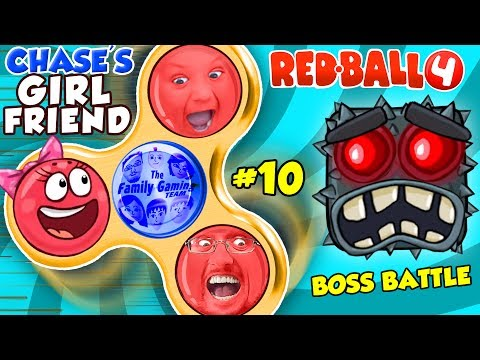 RED BALL 4 FIDGET SPINNER SAVES CHASE'S GIRLFRIEND! FGTEEV BOSS BATTLE #10 (Volume 5 Level 70-75)