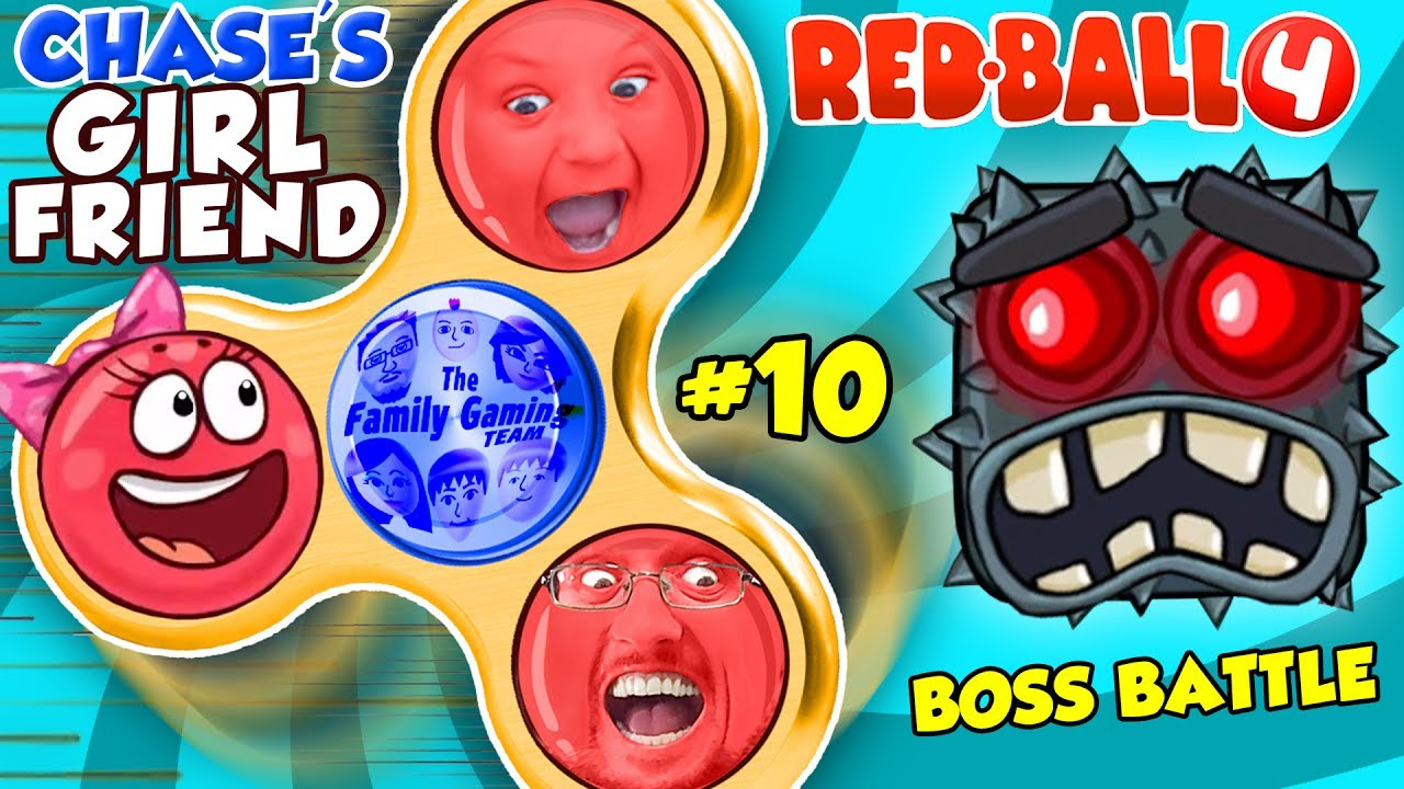 Download RED BALL 4 FIDGET SPINNER SAVES CHASE'S GIRLFRIEND! FGTEEV BOSS BATTLE #10 (Volume 5 Level 70-75)