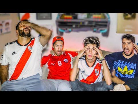 Palestino vs River | Copa Libertadores 2019 | Reacciones de amigos