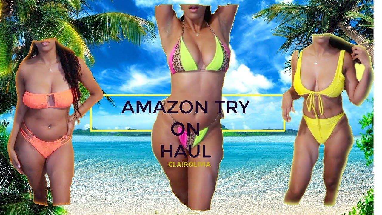 AMAZON TRY ON HAUL PLUS UNBOXING